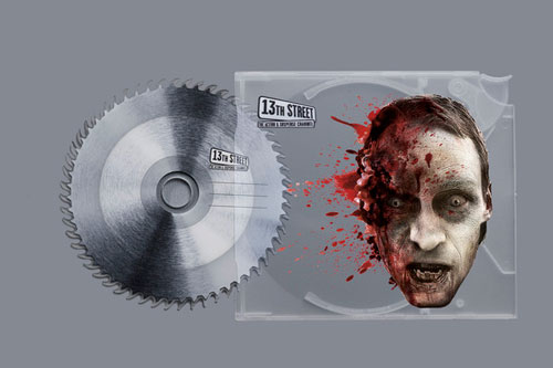 Horror Stationery Design, Prefect for Halloween