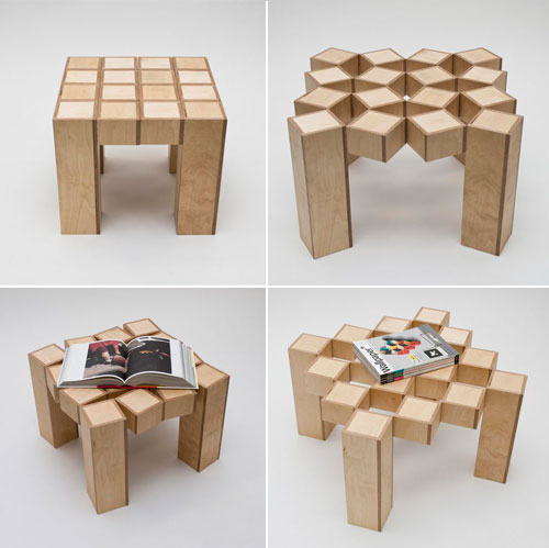 15 multifunctional tables which can transform design swan