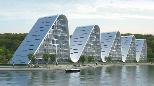 Live in the Wave, Modern Apartments in Vejle