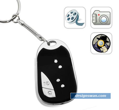 Mini Micro Spy Keychain Video Camera/Camcorder