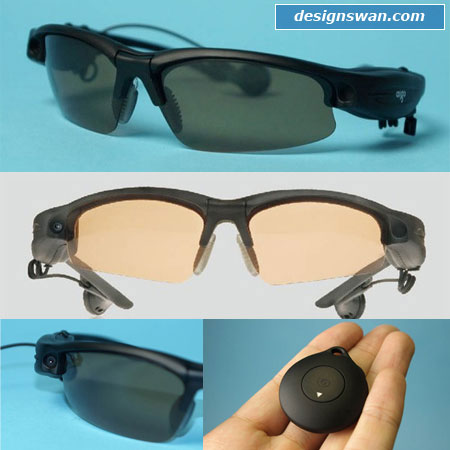 4gb spy mp3,mp4 sun glasses recorder video vidicon camera DV
