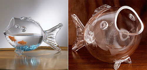 Large Crystal Fish Bowl