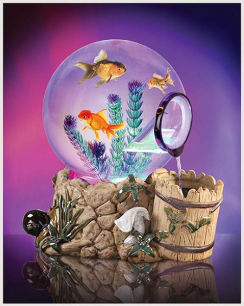Magic Globe Aquarium Wishing Well