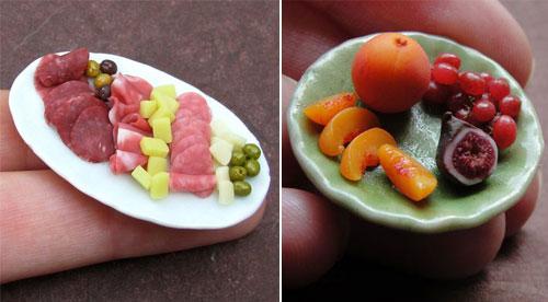 Amazing Miniature Food Sculptures