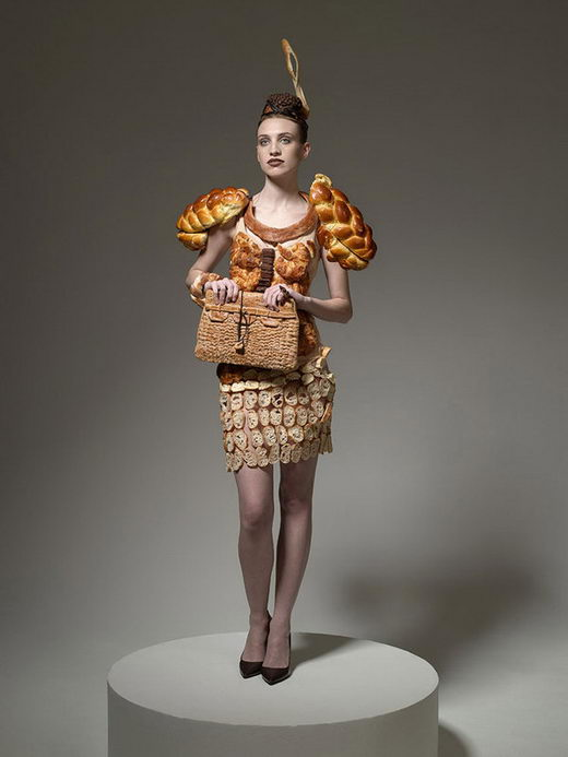 Hunger Pains Food Fashion: Dress Your Food Up