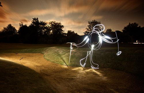 Incredible Light Graffiti From Ben Matthews