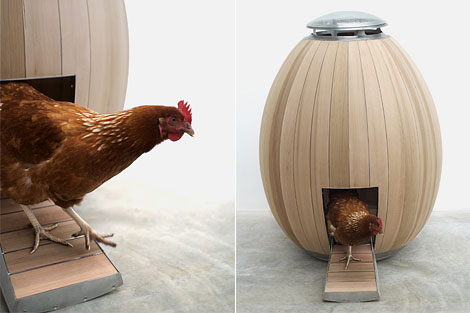 Creative Modern Chicken Coop Designs