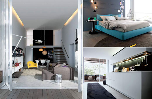 Modern And Innovative Home Design In 80M2 By Poliform