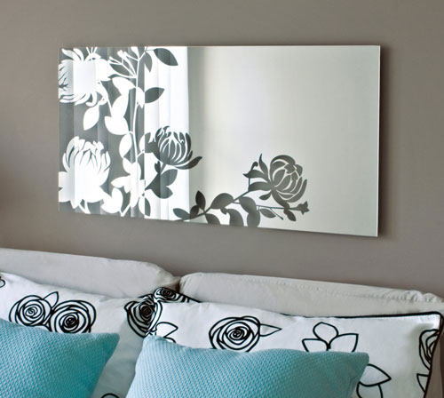 18 beautiful and modern mirror designs design swan - Wall mirror modern design ...