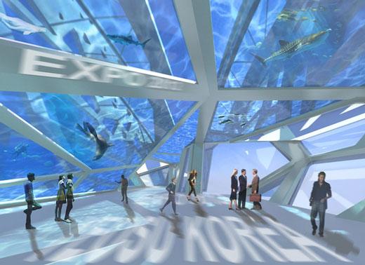 Ocean Imagination: Incredible Thematic Pavilion Design