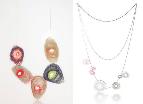 Unique Jewelery Design Inspired by Spirogeaph