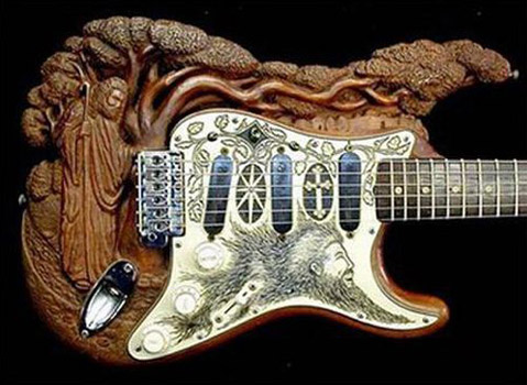 17 Creative and Unusual Guitar Designs