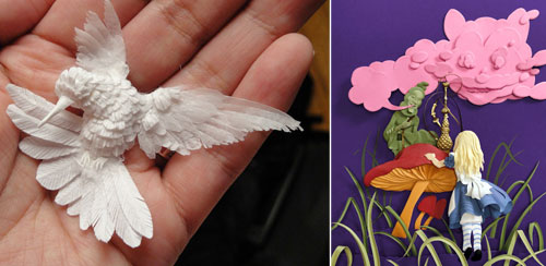 Truly Amazing Paper Sculpture by Cheong-ah Hwang