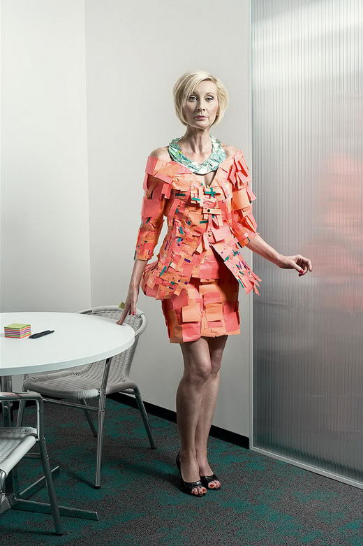 Creative Officewear Made Totally by Office Supply