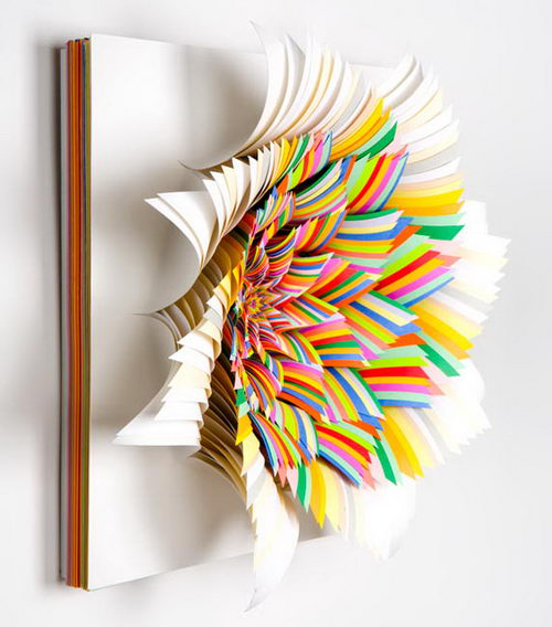 Paper Wonderland: Amazing 3D Paper Sculpture from Jen Stark