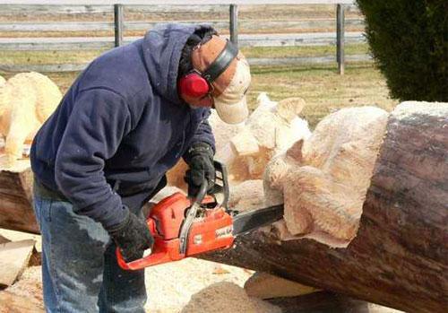 Amazing Chainsaw Wooden Sculptures