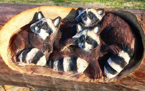 Amazing Chainsaw Wooden Sculptures