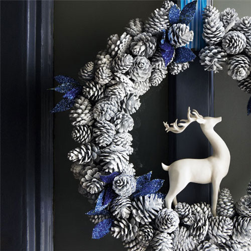 20 Beautiful Christmas Wreath Decorating Ideas