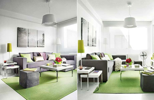 Small Apartment Inspiration 1: 40 Square Meter Cozy Home