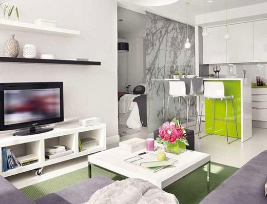 Small Apartment Inspiration 2: 40 Square Meter Cozy Home