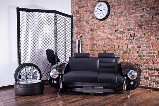 Innovative Living Room Design Inspired By Car Swan