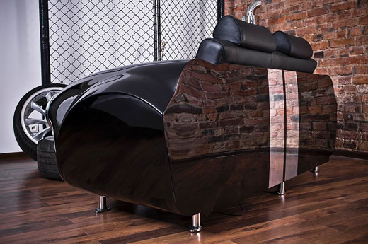 Innovative Living Room Design Inspired by Car