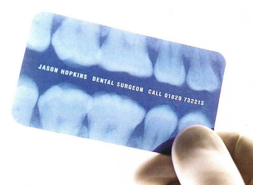 9 Creative and Unusual Dentist Business Card Designs – Design Swan