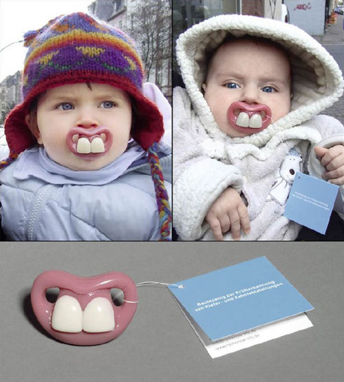 Creative and Unusual Dentist Business Card Designs