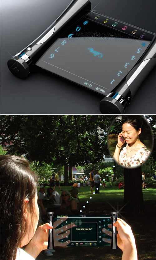 Concept Phone for Deaf