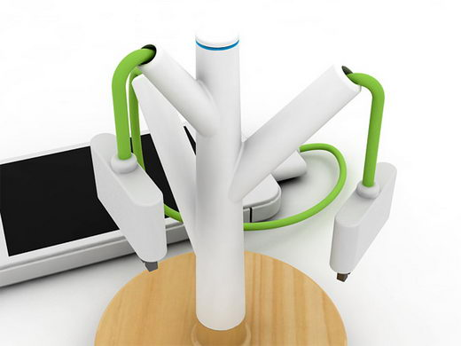 Giving Tree: Innovative Public Charging Station