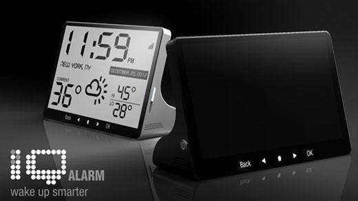 iQ Alarm clock - Morning Brain Teasers
