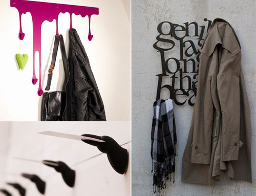 18 stylish hook and hanger designs - Stylish Wall Hooks