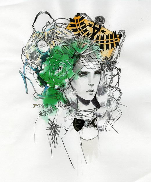 Beautiful Watercolor Illustration from Nicole Guice