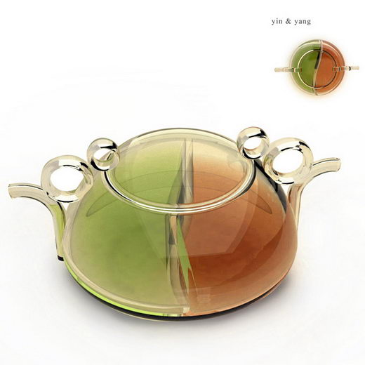 One Tea for two: Yin & Yang Inspired Teapot