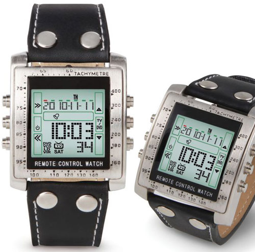Television Remote Control Wristwatch