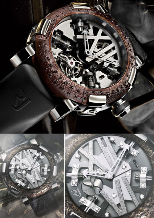 Romaine Jerome Steampunk Watch