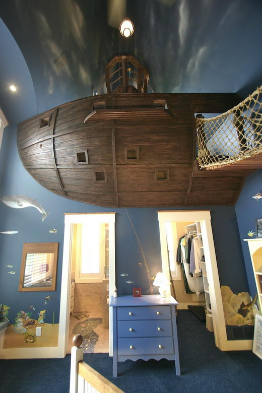 Awesome Private Ship Bedroom by Steve Kuhl