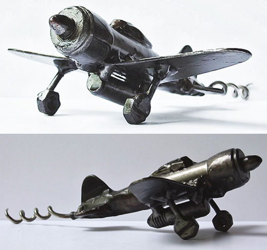 Weird and Unusual Metal Corkscrews and Bottle Openers