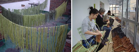 Amazing Installation: When Shoelaces Grow Like Grass