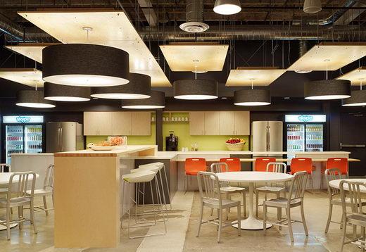 Modern and Innovative Interior Design of Skype's Palo Alto Office