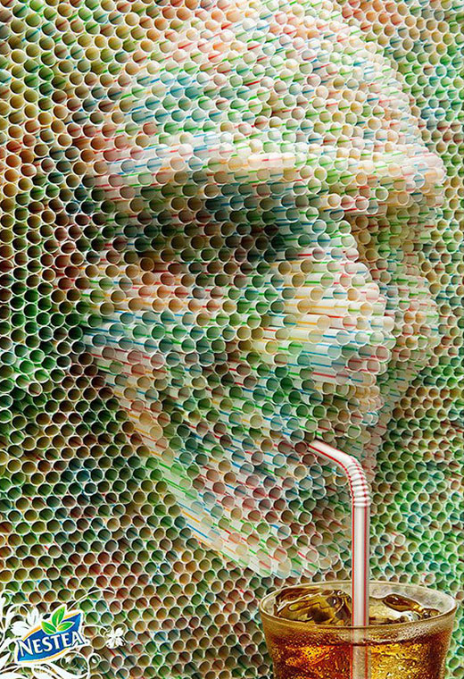 12 Creative Advertisement Inspired by Straws