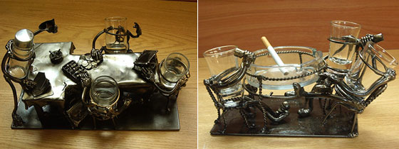 Stylish Steampunk Inspired Tableware