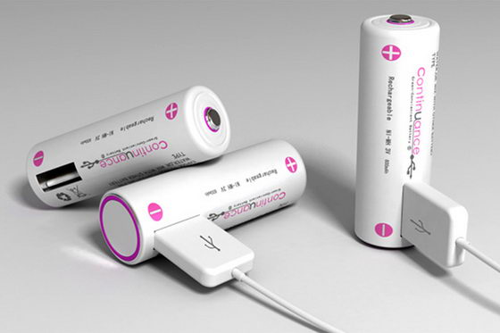 Continuance Rechargeable Battery with USB Interface for your Gadgets