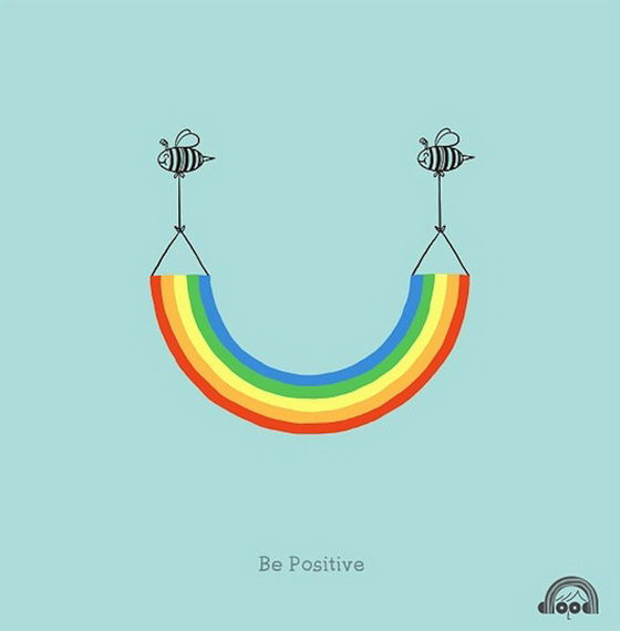 Doodling A Smile Optimistic Illustration From Heng Swee
