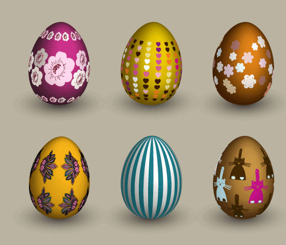 12 Beautiful Free Easter Themed Icon and Vector