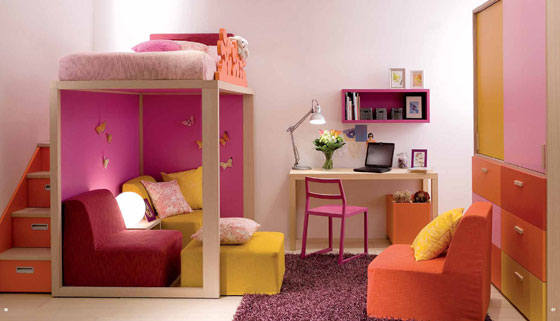 16 Beautiful and Fun Kids Room Designs