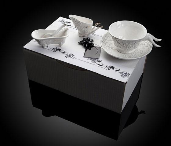 Blaue Blume: Stylish and Unusual Ceramic Designs for Tea party
