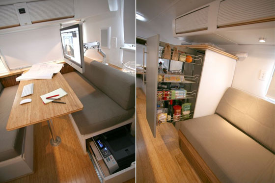 Creative Transformation: From Vintage Trailer to Living Space