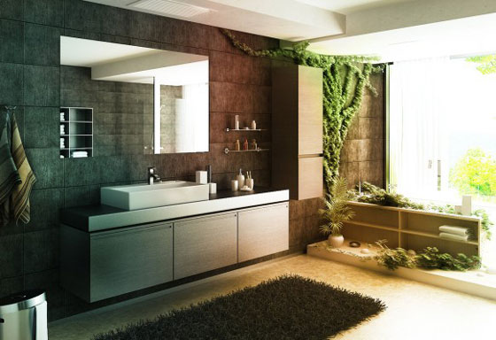 Elegant Modern Bathroom Design 14 elegant and minimalist bathroom designs – design swan