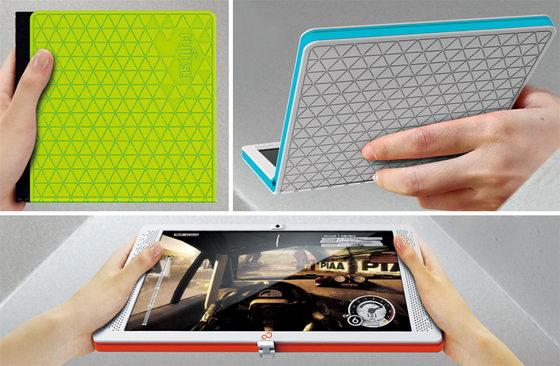 Fujitsu Flexbook: Innovative Folding Tablet / Netbook Concept